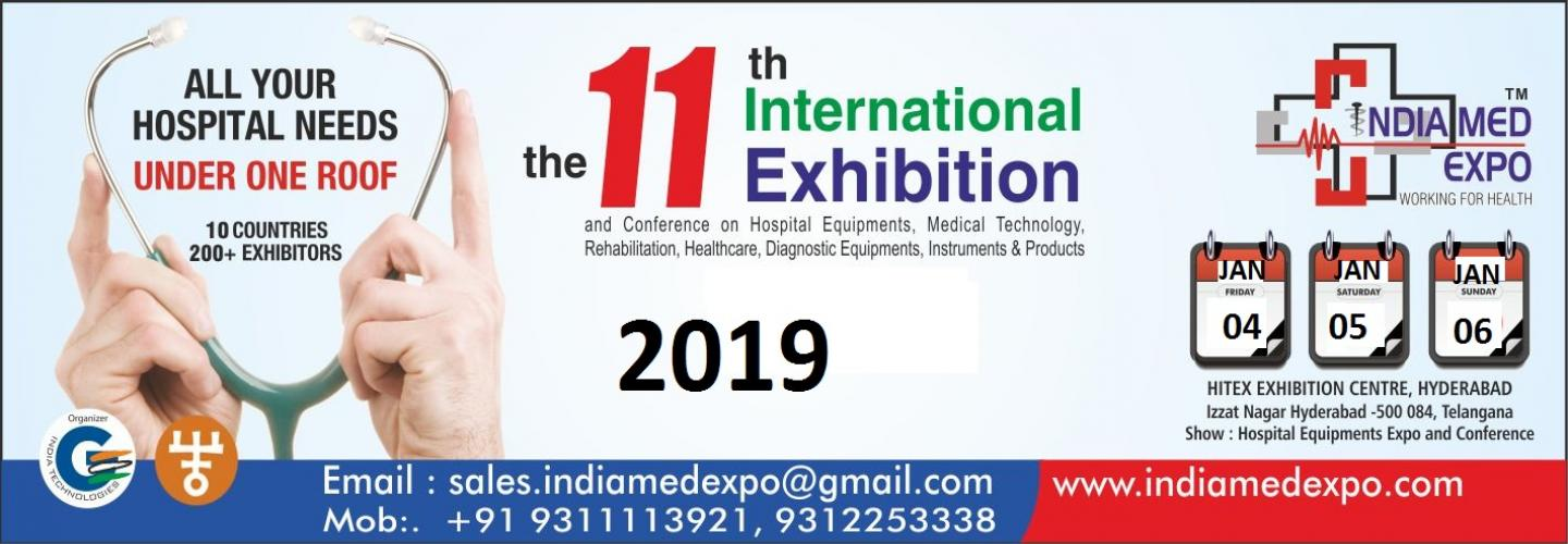 India Medical Exhibition and Medical Fair 2019