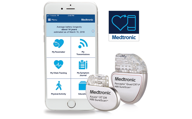 "Medtronic Plc launches new mobile app ""MyCareLink Heart"" 
